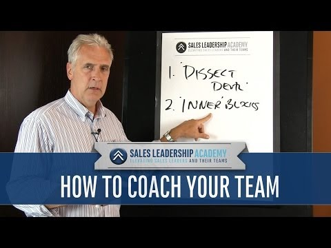 Sales Management Training: How to Coach Your Team