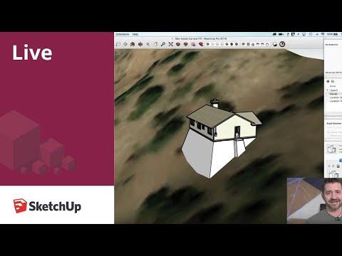 SketchUp Live! Modeling Terrain (July 19, 2018)