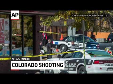 Gunman, Three Others Killed In Colorado Springs