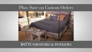 Batte Furniture Semi Annual Clearance Sale
