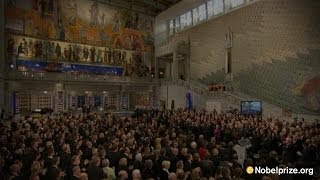Nobel Peace Prize Ceremony 2013