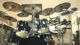 The Outfield- Talk to Me drum cover