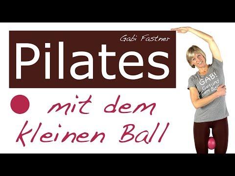 🎈35 min. Pilates-Training mit Ball   2020 HD