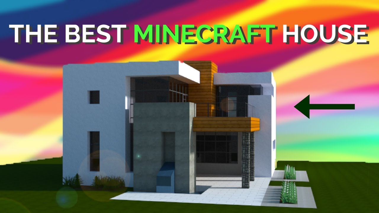 how to make a modern house on minecraft! 2017 - youtube