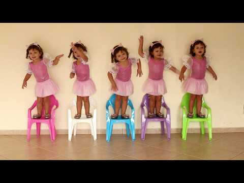 FUI CLONADA - Five Little Babies Jumping on the Bed Song, Nursery Rhyme for Children, Baby Songs