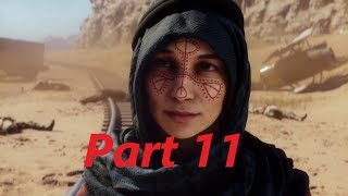 BATTLEFIELD 1 Walkthrough Gameplay Part 11 - Nothing is Written (BF1 Campaign)