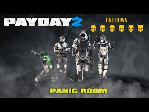 Payday 2 - Panic Room - Solo with Better Bots on One Down