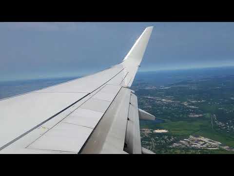Landing in Boston Logan international