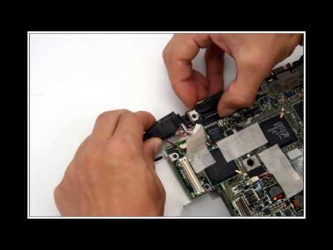 Toshiba Portege M2000 노트북 분해(Laptop disassembly)