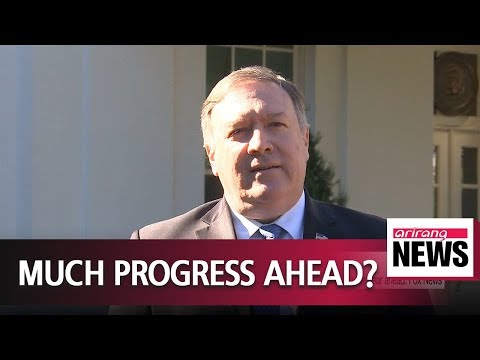 """Pompeo hopeful North Korea and the U.S. can make """"substantial progress""""  in the year ahead"""