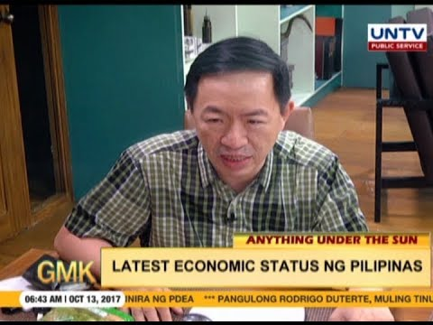 Latest economic status of the Philippines | Anything under the Sun