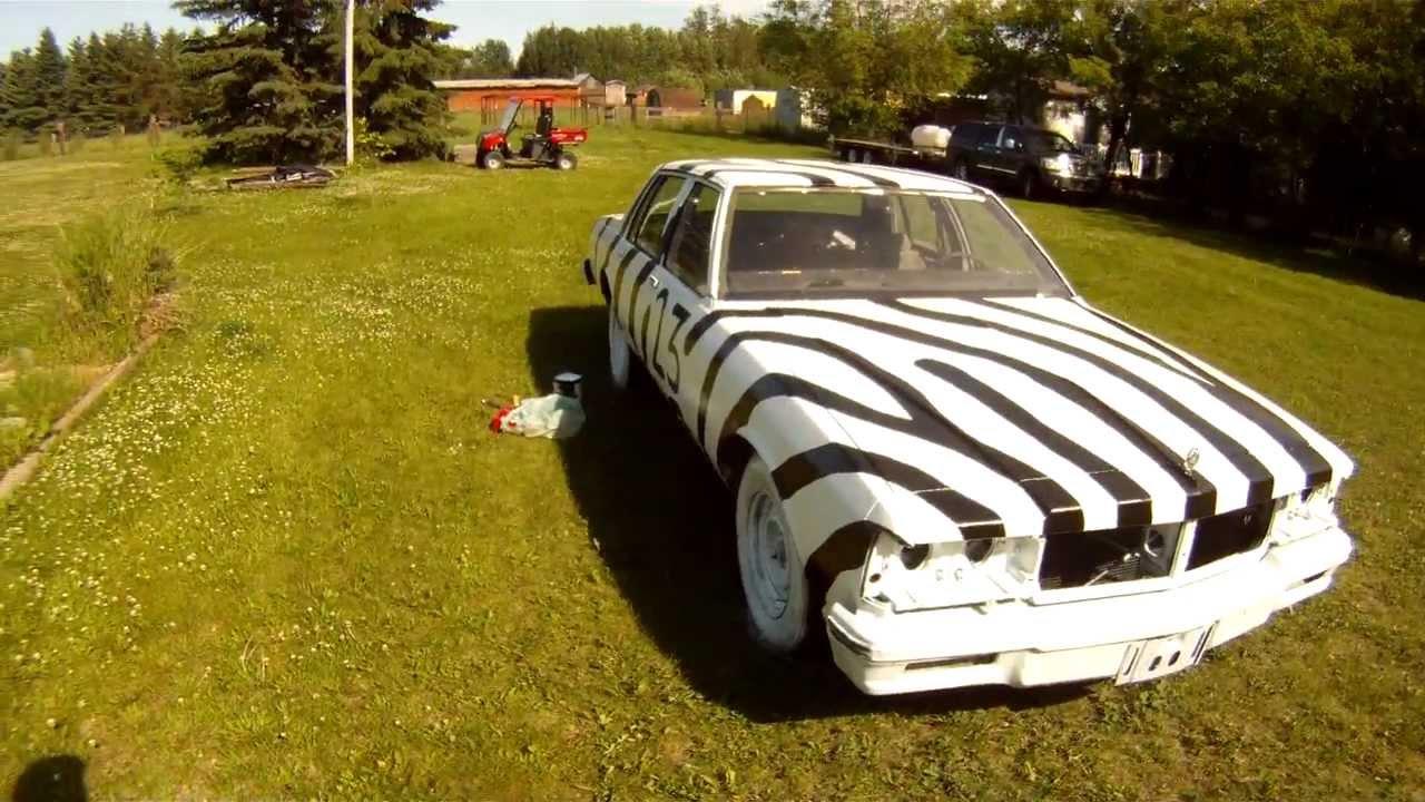 zebra derby car youtube. Black Bedroom Furniture Sets. Home Design Ideas