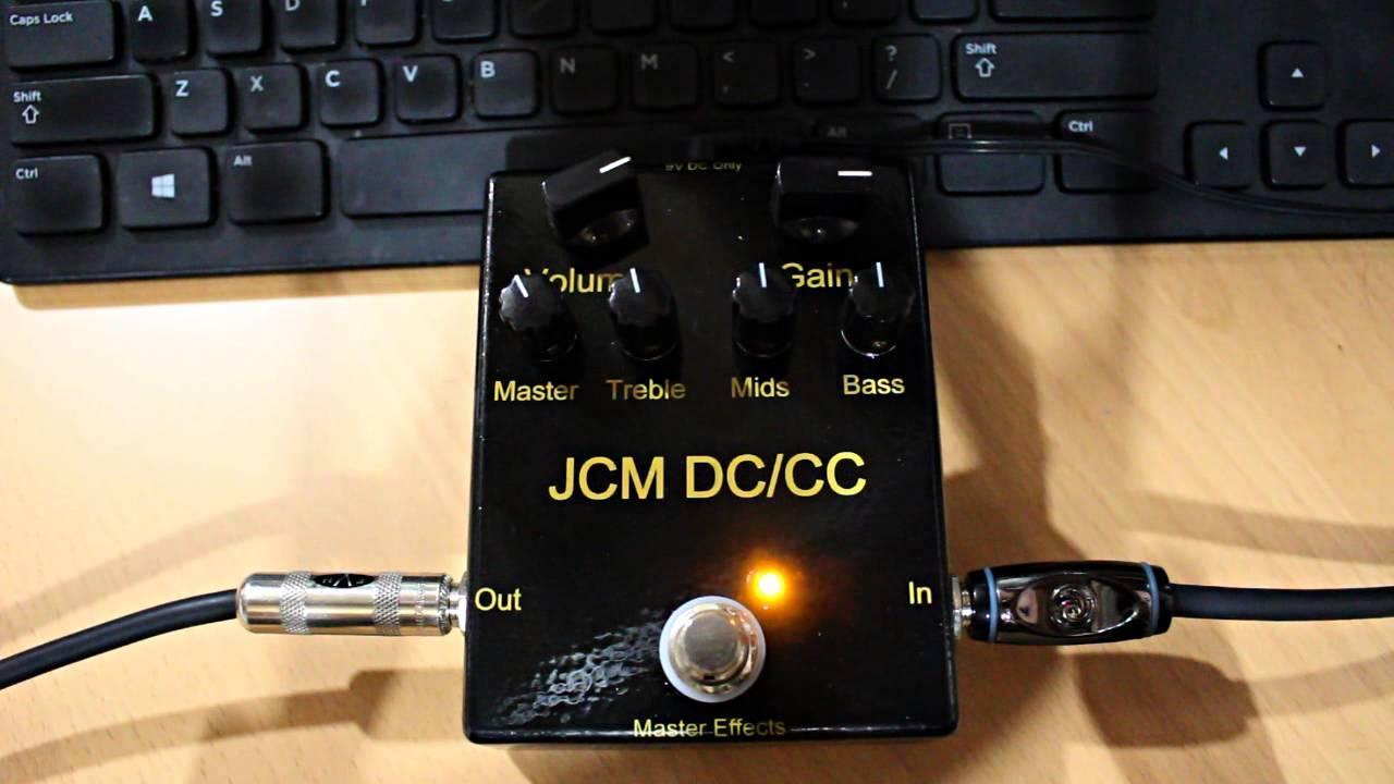 Master Effects JCM 800 Preamp Emulator