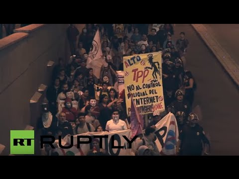 Peru: Lima protesters slam 'imperialist' TPP deal
