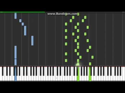 Tubular Bells (Exorcist Theme) in Synthesia