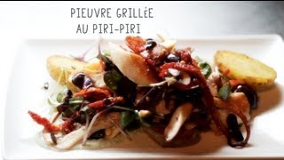 Pieuvre Grillee Au Piri-Piri - French Connection Montreal