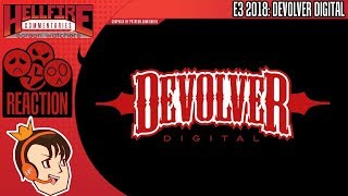 HellfireComms Reactions: Devolver Digital E3 2018 Conference (BLIND REACTION)