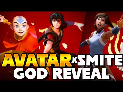 SMITE & Avatar: The Last Airbender – Reveal Of All Skins & God Choices