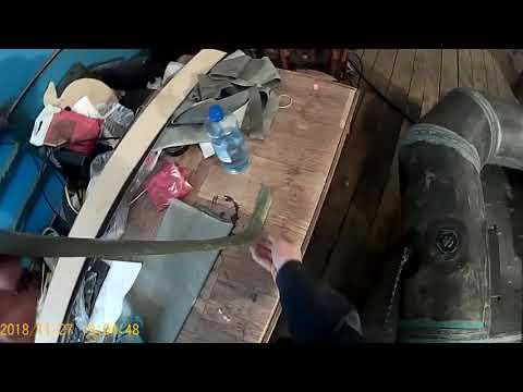 Клеим резиновую лодку своими руками видео