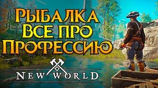 Рыбалка. Все про профессию New World MMORPG