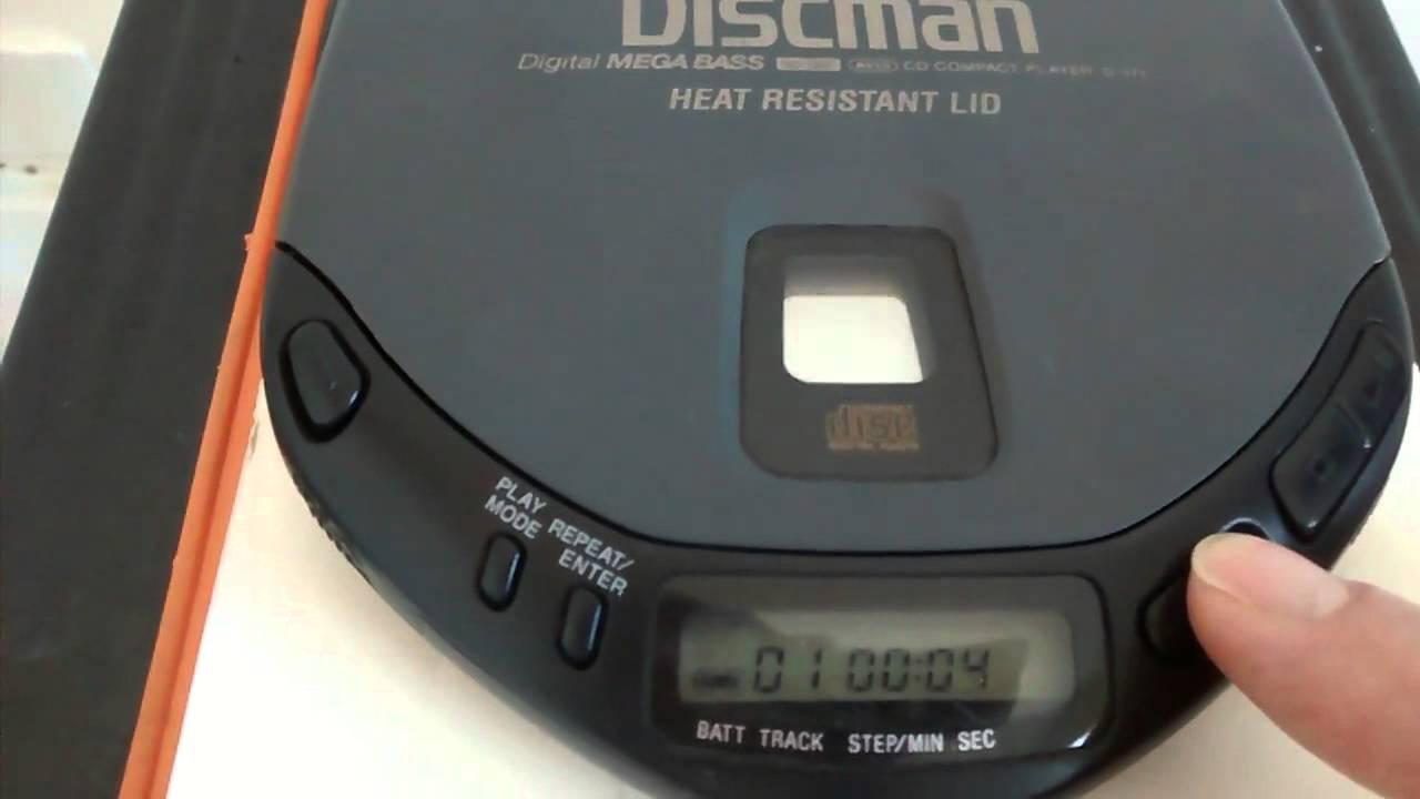 Discman Sony - YouTube  Discman Sony - ...
