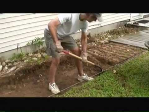 How To Install A Stone Paver Walkway You