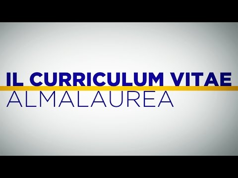Job Tips: il CV AlmaLaurea