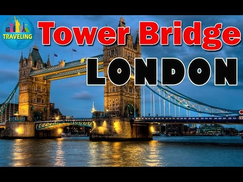 London Tower Bridge, Very Beautiful Moments in London, England, UK