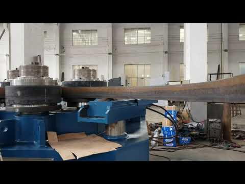 W24s-75 section bending machine