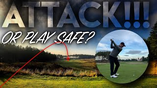 ATTACK the flag or play SAFE golf? Essential Course Management