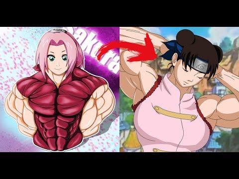 Personagens De Naruto Versão Musculosas (Marombeira)