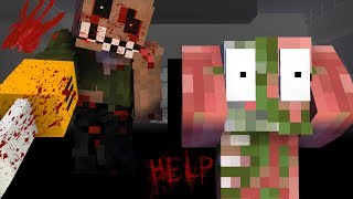 Monster School : SCARY HORROR STORY | Challenge - Minecraft Animation
