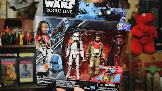 Star Wars Action Figures from Dollarama - Red Coat Black Coat