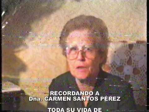 1986.6.7. Homenaje a Dña. Carmen Santos Pérez, en el día de su jubilación