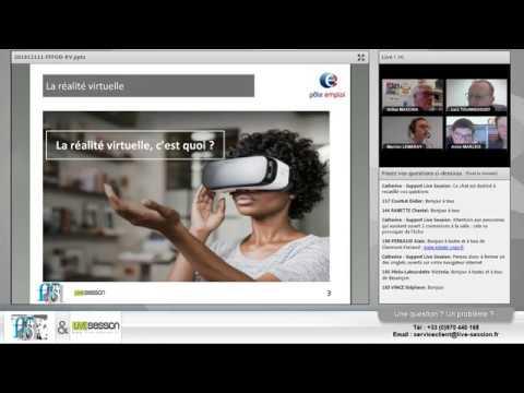 [WEBCONF] La réalité virtuelle au service des soft skills