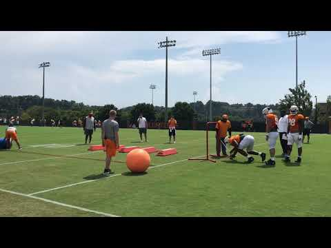 Tennessee Vols football practice Aug. 13, 2019