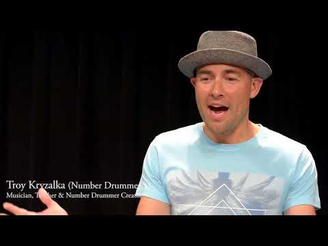 "Durham Arts Council CAPS Teaching Artist, Troy Kryzalla ""Number Drummer"""