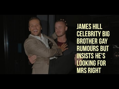 OMG James Hill Celebrity Big Brother Gay Rumours But Insists He