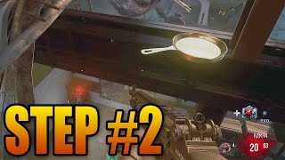 Exo Zombies Infection Easter Egg Guide (Step #2 - Gold Frying Pan)