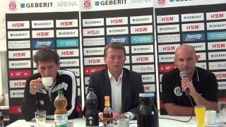 Pressekonferenz SC Pfullendorf - FC 08 Villingen