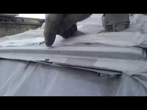 Оцинковка авто. (Часть № 8) Ржавчина рамки лобового стекла - Pontiac Vibe.