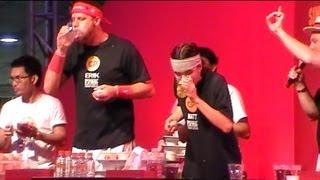 CP Biggest Eater 2012 Bangkok
