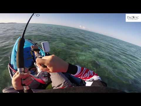 Compilation pêche en kayak mer spinning Nouvelle-Calédonie
