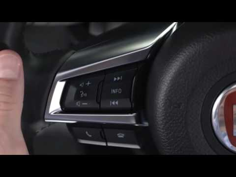 Fiat Connect 7.0-Learn about digital radio and aux input on 2017 Fiat 124 Spider