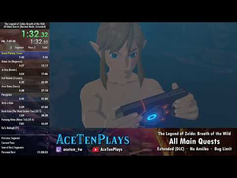 [WR] Breath of the Wild - All Main Quests + DLC [9:34:48] - World Record