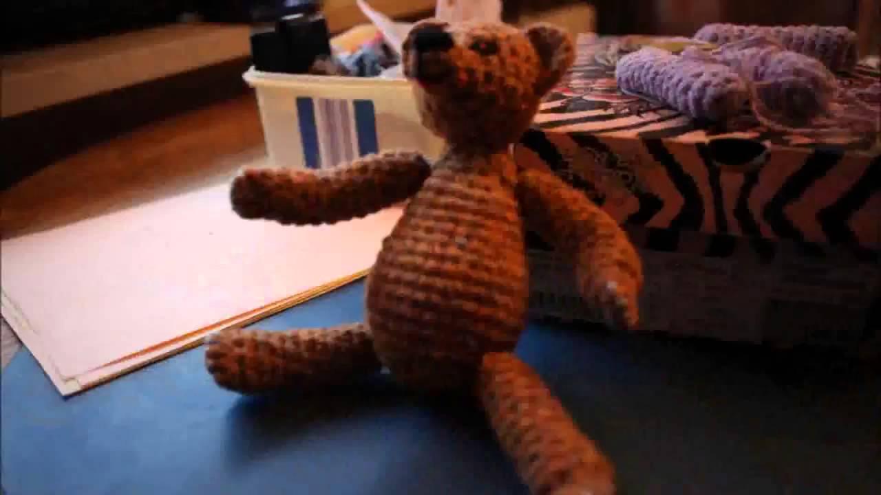 Teddy Häkeln Anleitungtutorial Haekelnundstricken Youtube