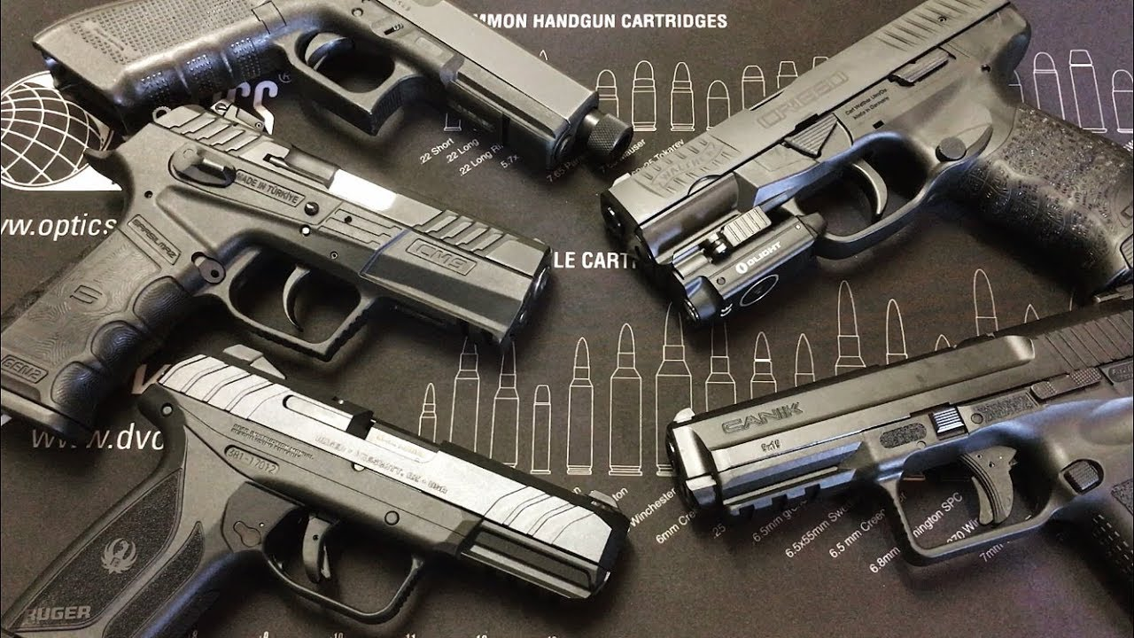 Top 5 Home Defense Handguns for African Americans Under $400