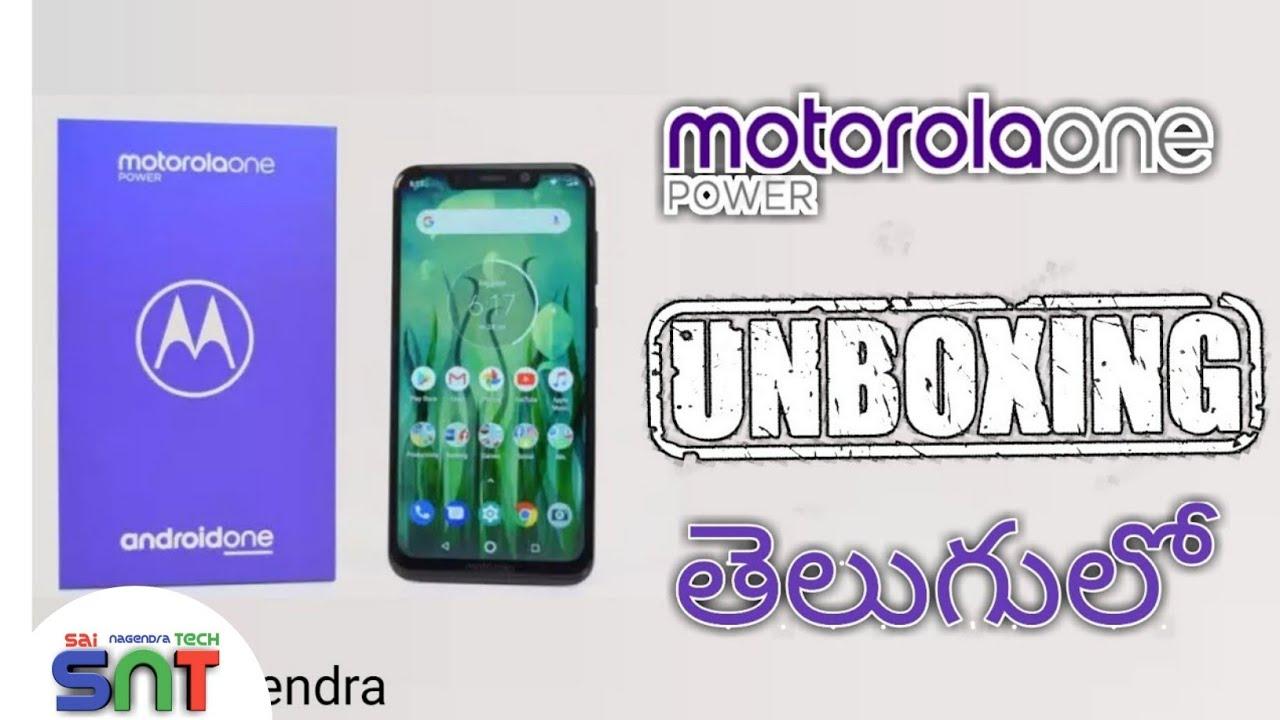 Moto One Power Mobile Unboxing In Telugu | Latest Mobiles To Buy | Motorola 4GB Phone | Sai Nagendra