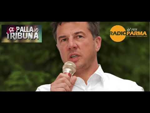 Luca Piazzi ospite telefonico in diretta a Palla in Tribuna (Radio Parma)