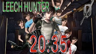 Resident Evil 0 HD - Leech Hunter 100% - Hard Mode Speedrun (20:35)